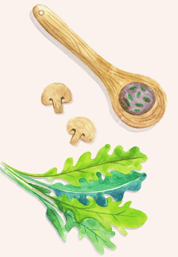 pizzas à base de légumes bio et fromage AOP lyon